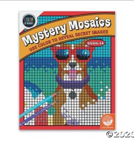 MindWare Book 14: Color By Number Mystery Mosaics