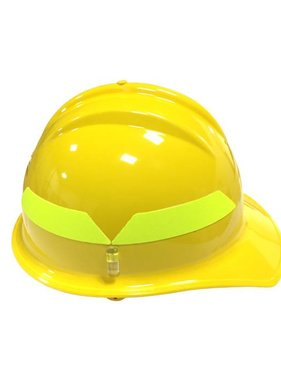 BULLARD Yellow Bullard Wildland Cap Style 6-Point Ratchet Fire Helmet Hard Hat