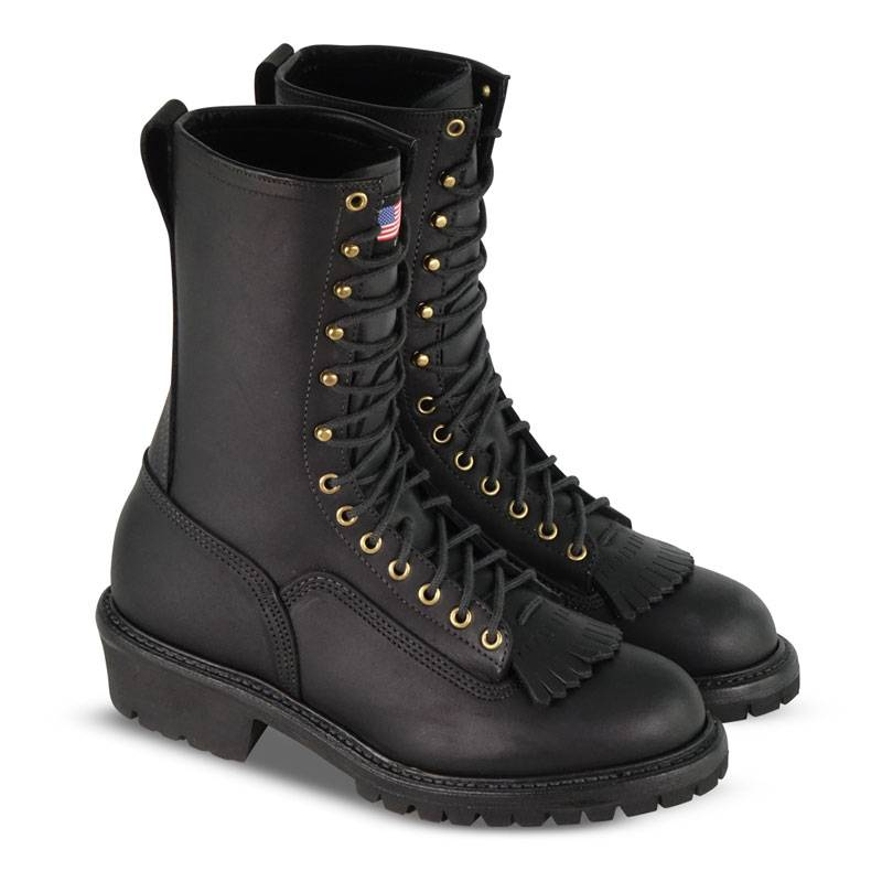 "THOROGOOD Men's Thorogood 834-6371 Fire Devil 10"" Wildland Firefighting Boots"