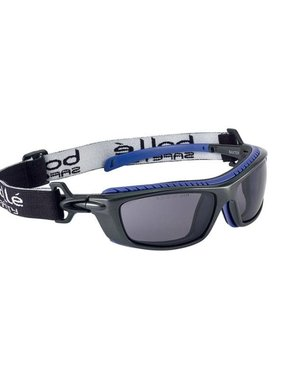 Bolle Baxter Safety Goggles (Smoke Lens)
