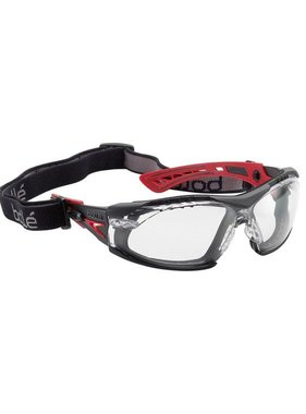 Bolle Rush+ Assembled Safety Goggles (Clear Lens)