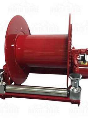 Hannay Reels Hannay Reels EPF 24-23-24 RB Electric Hose Reel w/FH-3 Bottom Rollers