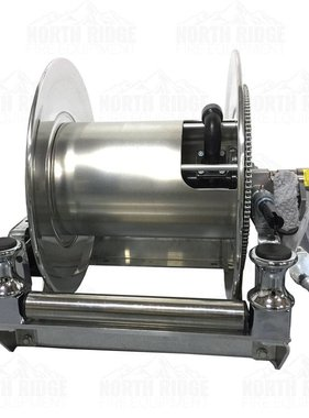 HANNAY Hannay Reels SBEPF 24-23-24 RB Electric Hose Reel w/FH-3 Bottom Rollers