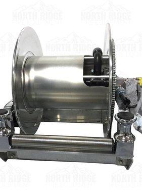Hannay Reels Hannay Reels SBEPF 24-23-24 RB Electric Hose Reel w/FH-3 Bottom Rollers