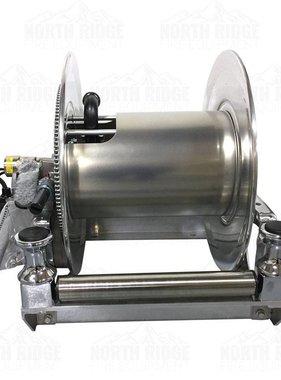 HANNAY Hannay Reels SBEPF 24-23-24 LB Electric Hose Reel w/FH-3 Bottom Rollers