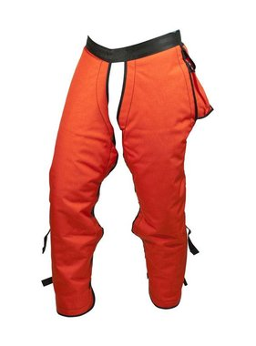 "PGI 40"" Sawbuck 5-Ply Wildland Chainsaw Chaps (Orange)"