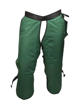 "PGI PGI 32"" 5-Ply UL Classified Green Sawbuck Wildland Chainsaw Chaps 8135083-32"