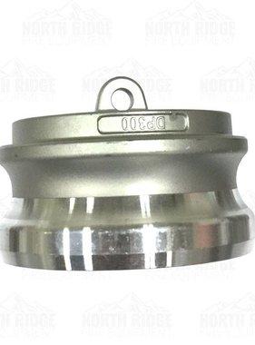 """3"""" Cam Lock Aluminum Hose Plug DP-300"""