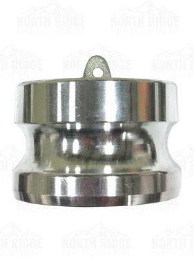 """2.5"""" Cam Lock Aluminum Hose Plug DP-250"""