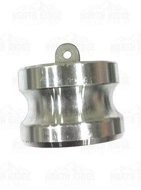 """2"""" Cam Lock Aluminum Hose Plug DP-200"""