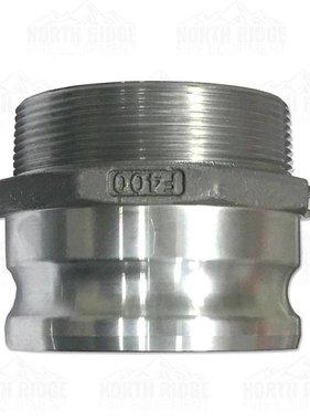 """4"""" F400 Cam Lock Male x Male NPT"""