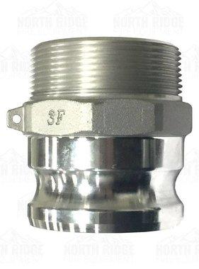 """3"""" F300 Cam Lock Male x Male NPT"""