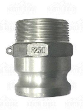 """2.5"""" F250 Cam Lock Male x Male NPT"""