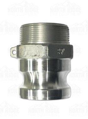 """2"""" F200 Cam Lock Male x Male NPT"""