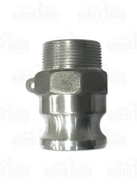 """1.5"""" F150 Cam Lock Male x Male NPT"""