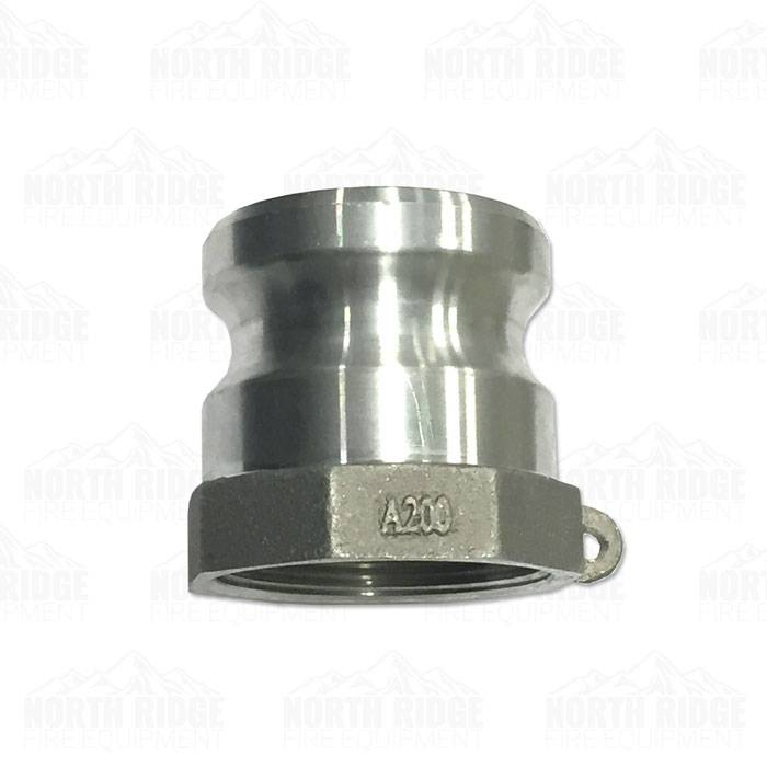 Stainless Steel Locking Cams with Female NPT Thread 2 Inch