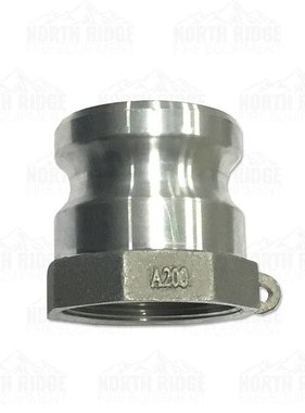 "2"" A200 Male Cam Lock x Female NPT"