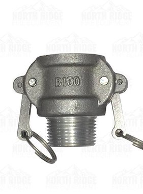"1"" B100 Female Cam Lock x Male NPT"