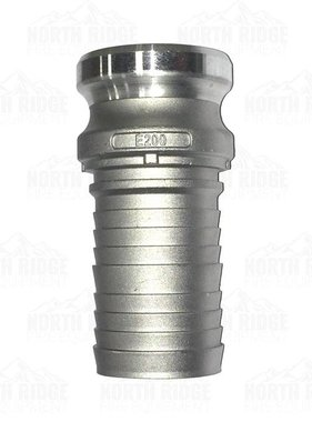 "2"" E200 Male Cam Lock with Barb"