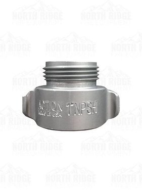 "Action Coupling 1"" NPSH Female X 3/4"" GHT Male Adapter"