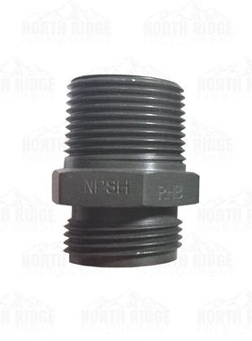 "Red Head (37) 1"" NPSH x 1"" NPT Double Male Adapter"
