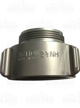 "ACTION COUPLING Action AA137 2.5"" NH Male X 3"" NPT Female Adapter"