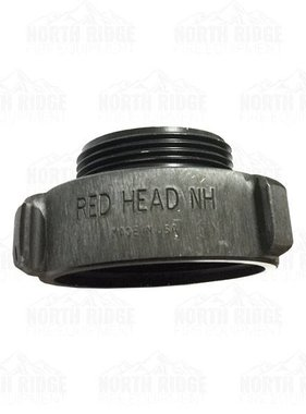 "RED HEAD Redhead (37) 2.5"" NH Female X 2"" NH Male Adapter"
