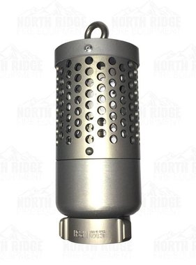 "Action Coupling 2"" NPSH Heavy Duty Foot Valve Strainer"