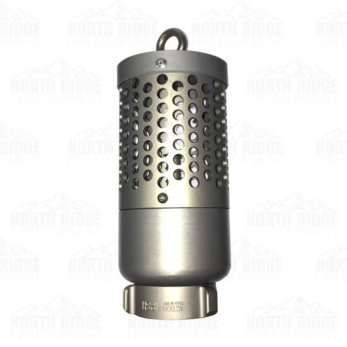 "Action Coupling Action FVS-20 2"" NPSH Heavy Duty Foot Valve Strainer"
