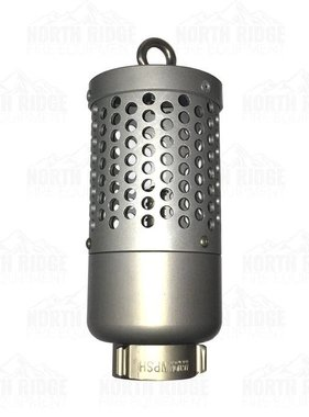 "Action Coupling 1.5"" NPSH Heavy Duty Foot Valve Strainer"