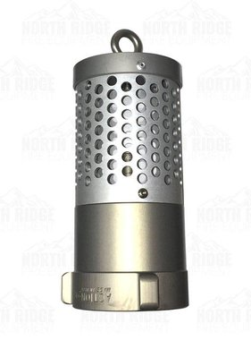 "Action Coupling 2.5"" NH Heavy Duty Foot Valve Strainer"