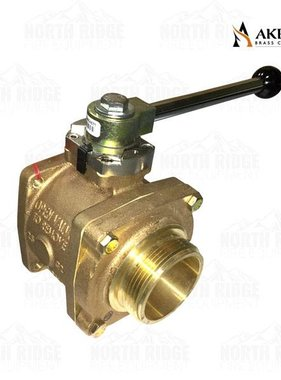 """Akron Brass B88252245 Valve with 2.5"""" NH Male Adapter"""