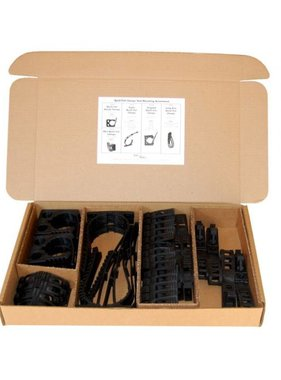 End of the Road, Inc. Quick Fist Tool Mounting Clamp Assortment Kit #90099