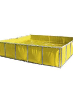 Husky Portable 1500 Gallon Exlon® Folding Water Containment Tank