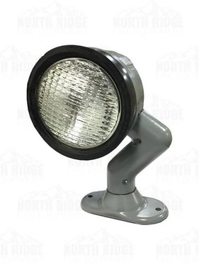 Clear, Sealed Beam Flood  Light with 2 Lead Wires
