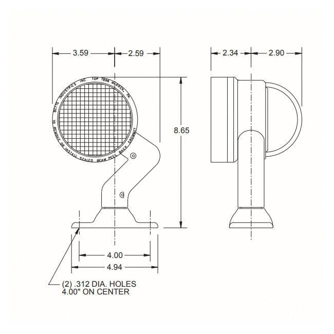 6024 Sealed Beam Headlight Wiring Diagram. . Wiring Diagram on