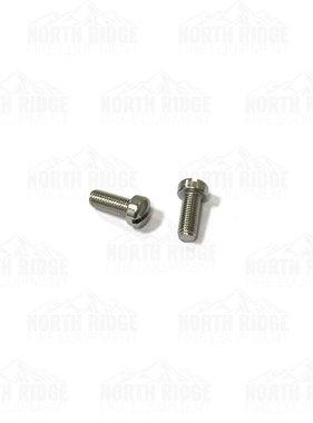 "Mercedes Textiles 4-Stage Pump Fillister Screw 1/4"" x 28TPI-5/8"" LG-SS"