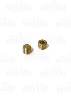 Mercedes Textiles Brass Pump Plug #6402TMPLG