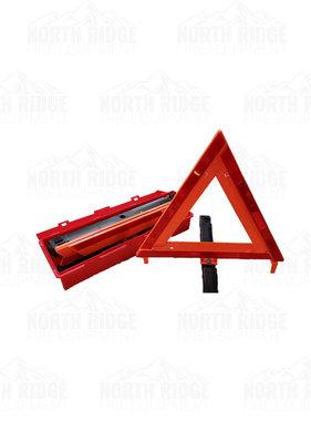 """17"""" Hazard/Warning Triangle Set with Case (Set of 3)"""