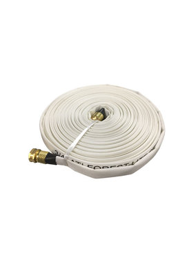 "Armored Textiles Inc. 3/4"" GHT x 100ft Forest-Lite Mop-Up Hose 45H75W100GHT"