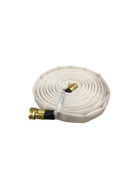 "Armored Textiles Inc. 3/4"" GHT x 50ft Forest Lite Mop-Up Hose 45H75W50GHT"