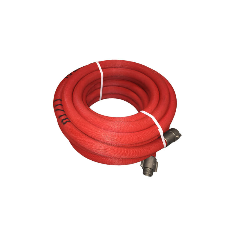 "ARMORED TEXTILES 1"" NPSH x 100' Armored Reel Booster Hose 54H1REDARMP"
