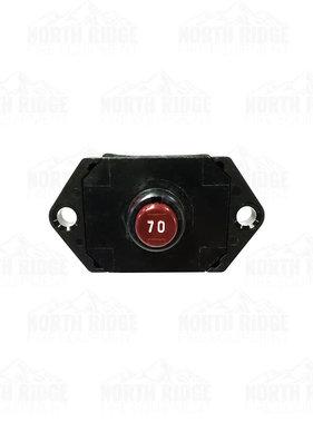 Hannay Reels 70 Amp Manual Reset Circuit Breaker 9917.0022