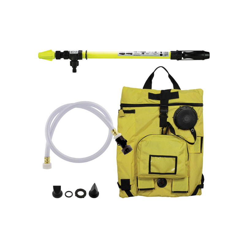 Scotty Firefighter Scotty Bravo 6-Gallon Water Backpack Sprayer Foam System 4000F-BRAVO