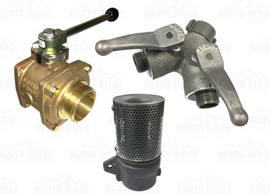 Valves, Wyes & Strainers