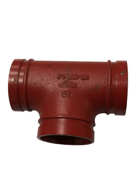 "3"" Grooved Coupling Pipe Tee"