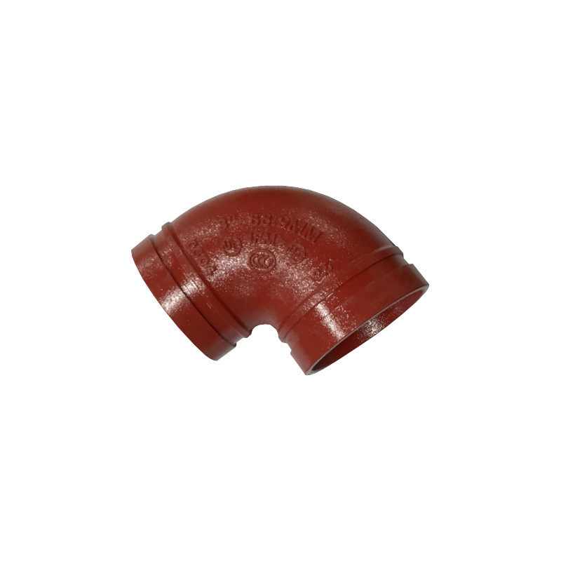 """A-1 Industrial 3"""" Grooved Victaulic 90-Degree Elbow"""