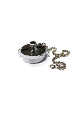 "South Park Corp. South Park 1.5"" NH Chrome Plated Cap Fitting with Chain"