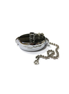 """South Park Corp. South Park 2.5"""" NH Chrome Plated Cap Fitting with Chain"""