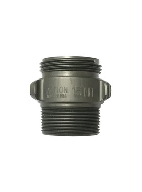 "Action Coupling 1.5"" NH  x 1.5"" NPT Double Male Adapter"
